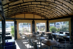 Rounded Tent Awning