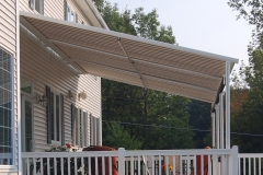 Side View of Home Awning