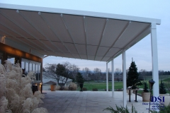 Side View of Large Awning