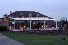 Large Backyard House Awning
