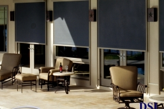 3 Indoor Window Covered Awnings