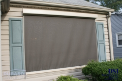 Outdoor Window Covered Awnings