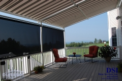 Screened in Backyard Awning