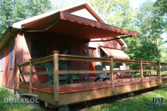 Red Deck Awning