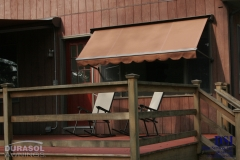 Brown Deck Awning