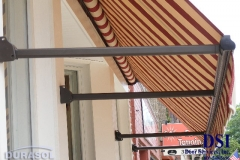 Striped Store Front Awning