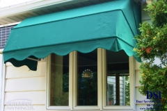 Green Window Awning