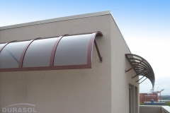 Rounded Store Awning