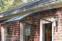 Side View of Home Door Awning