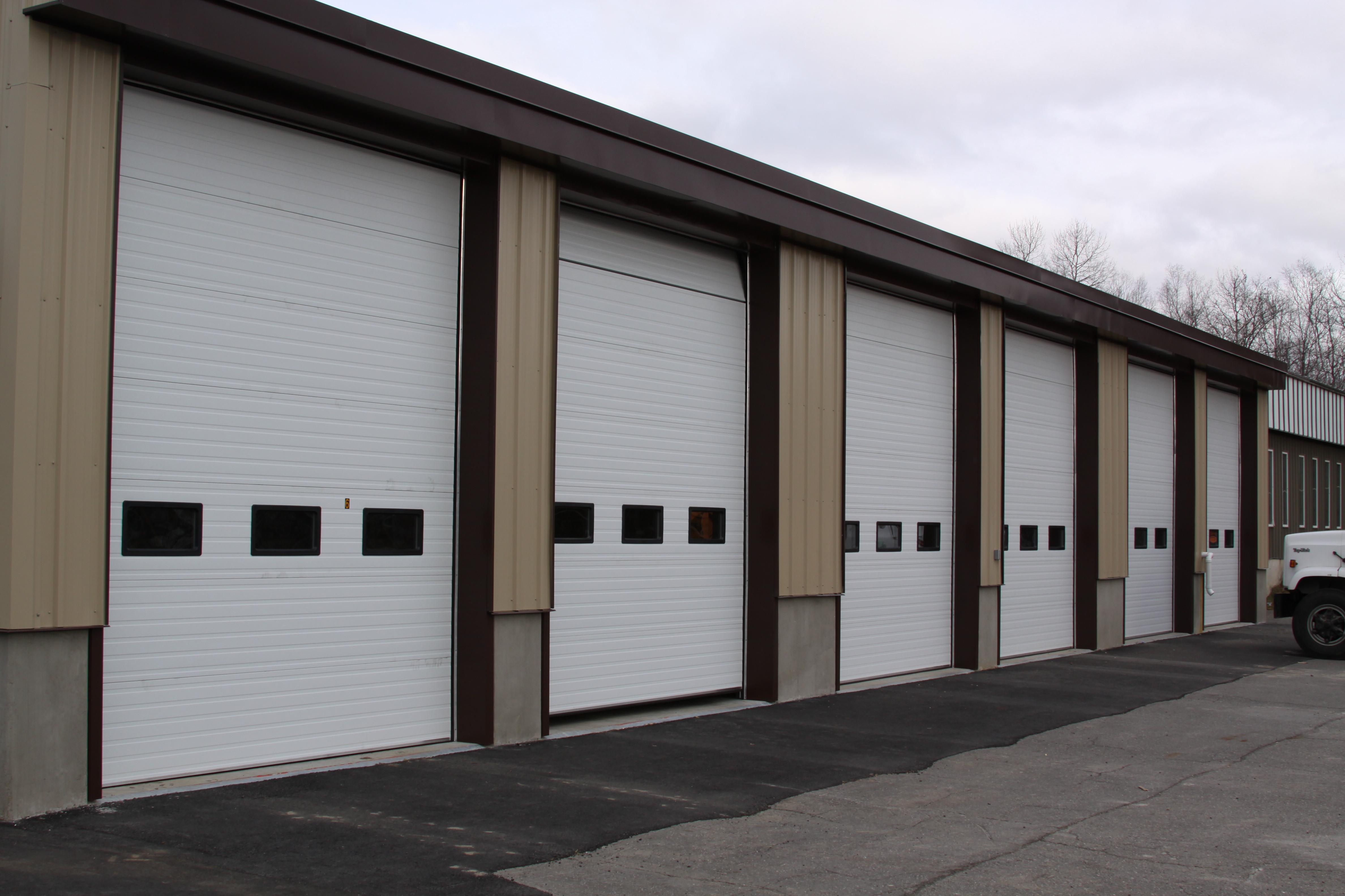Commercial door gallery garage doors waterville for Automatic garage door company minneapolis