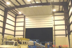 Large Commercial Garage Door