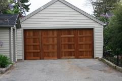 One Large Garage Door