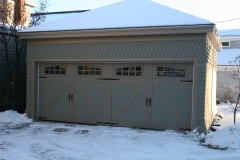 2 Side By Side Garage Doors