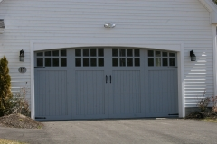 One Large Garage Door