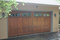 Large Wooden Garage Door