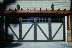 Large Garage Door
