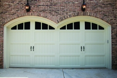 Double-Arch Garage Doors