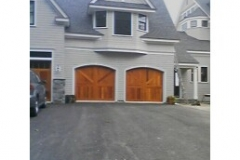 2 Tan Garage Doors