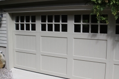 One Close Up of Garage Door