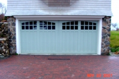 Large Light Blue Doors