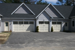 3 Different Sized Garage Doors