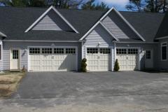 3 Different Sized Garage Doors
