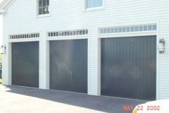 3 Green Garage Doors