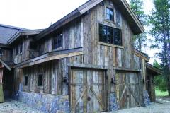 2 Barn Style Garage Doors